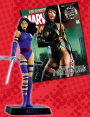 Classic Marvel Figurine Collection #066 Psylocke Eaglemoss Publications